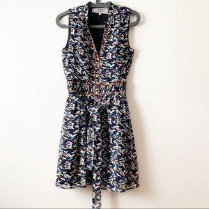 PINK MARTINI   Bird Pattern Dress